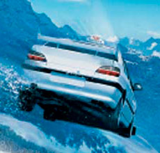 Crop of the original Taxi 3 poster